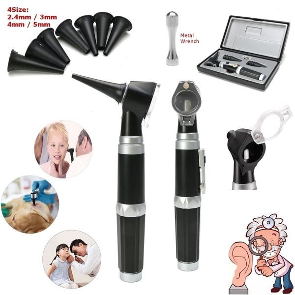 medicalopticotoscope, otoscope, Wool, fiberopticotoscope