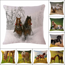 case, horse, Cushions, animalpillowcase