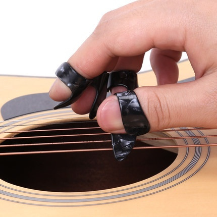 thumb, celluloid, fingerguitarpick, guitarthumbpick