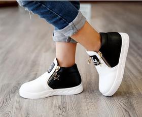 Cotton, boyboot, Sneakers, Fashion