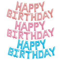happybirthday, foilballoon, Aluminum, partydecorationsfavor