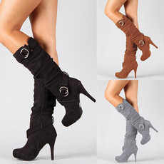 Knee High Boots, Womens Shoes, Winter Boot, Boots