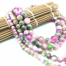 pink, 8MM, Jewelry, greenpink