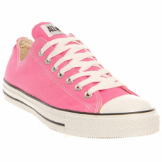 pink, Sneakers, Star, Lace