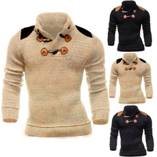 menslongsleeveknitwear, modepullhomme, knitwearcoat, mänmodetröja