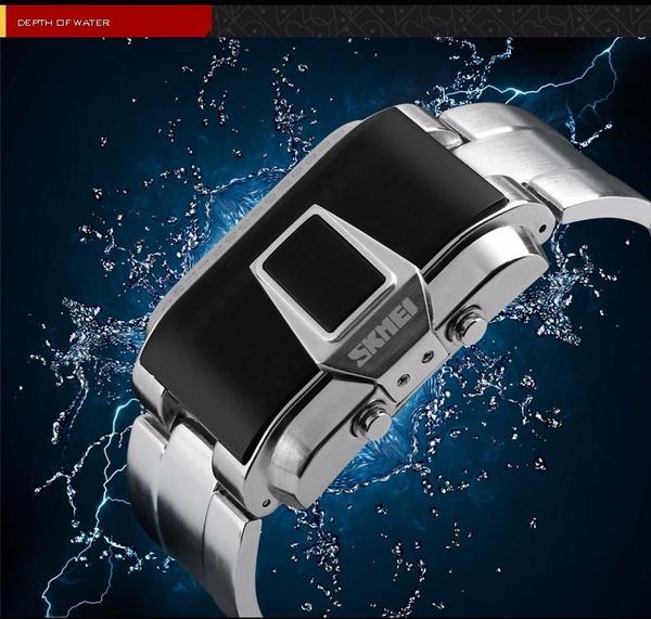 LED Watch, Watches, quartz, students watch
