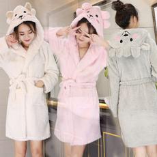Fashion, winter fashion, cottonpajama, Bathrobe