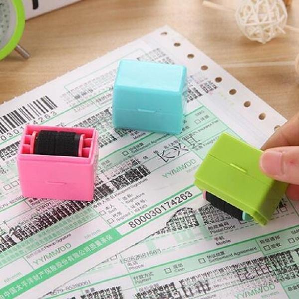 Mini, confidentiality, confidential, Stamps