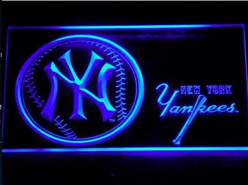 Mlb, New York, lights, Sport