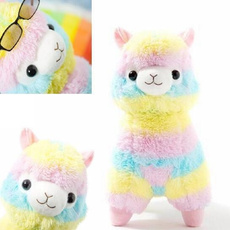 Stuffed Animal, rainbow, Toy, Christmas