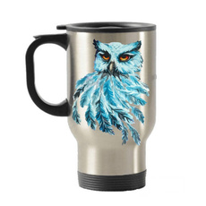 Owl, insulated, cute, Stainless Steel