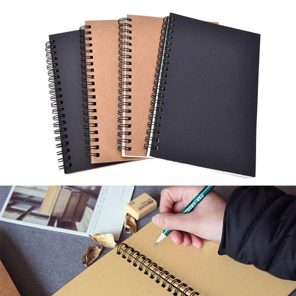 sketchbook, writingpaper, sketchingbook, blankkraftpaper