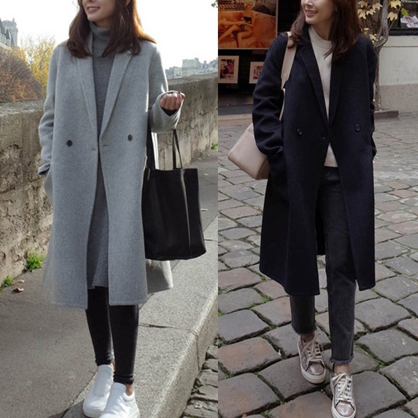 casual coat, woolen, Fashion, Gel