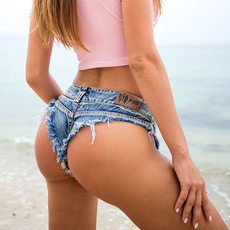 Shorts, Waist, sexyshort, Denim