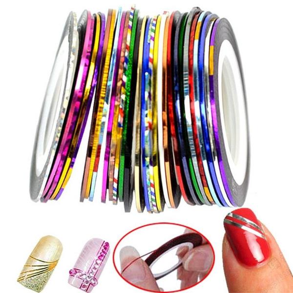 nail stickers, Jewelry, gold, Beauty