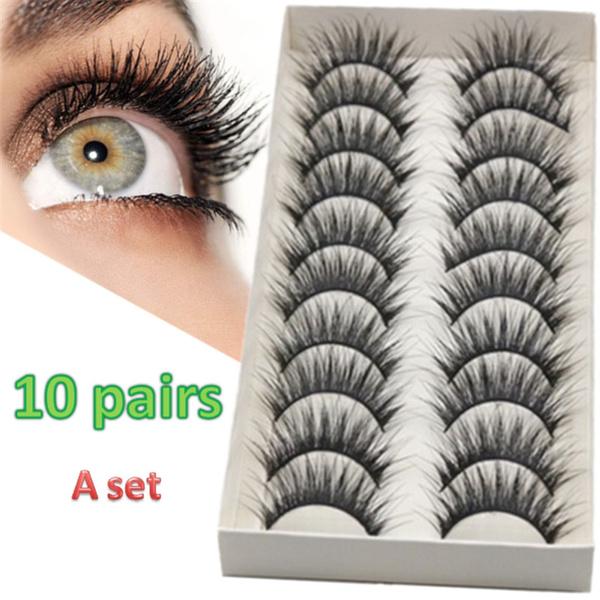 False Eyelashes, Eyelashes, eye, Beauty