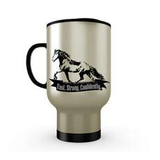 insulated, Stainless Steel, horse, drinkbarware