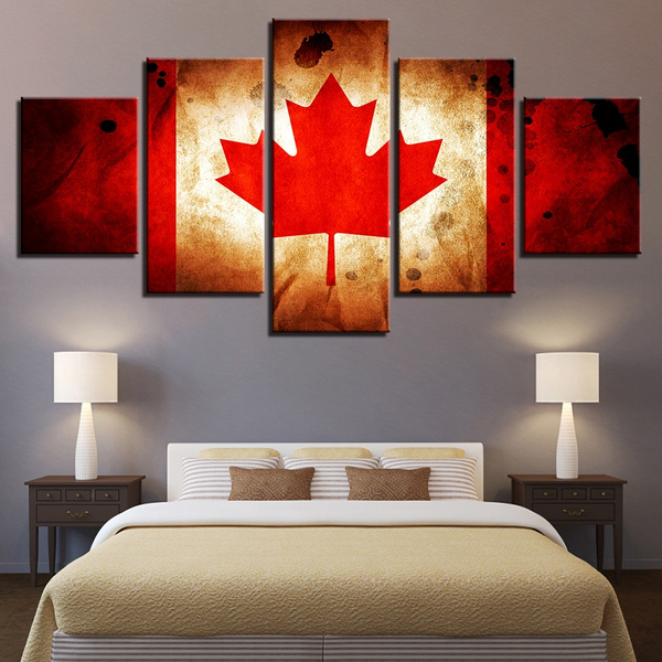 Canada, decoration, handmade oil painting, modern abstract oil painting