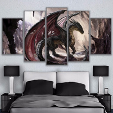 decoration, handmade oil painting, modern abstract oil painting, Home & Living