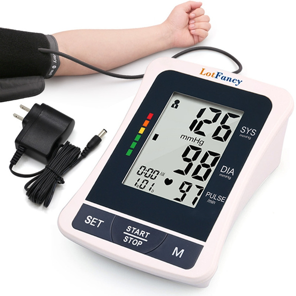2 User Mode with 198 Memory Capacity Digital Blood Pressure Monitor with LCD Display for Home Use ASDF Wrist Blood Pressure Monitor Cuff