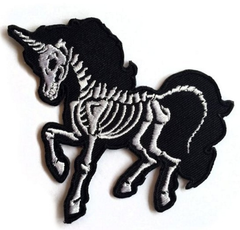 Skeleton, badgesamppatche, irononpatch, sewingpatchdiy
