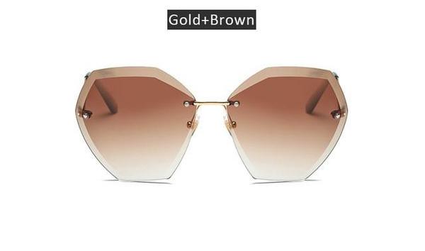 oversizedgradierimlesssunglasse, Sunglasses