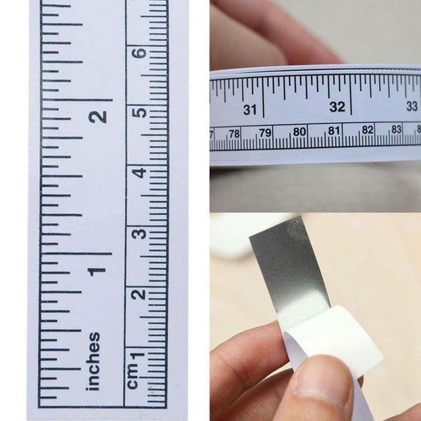 sewingtool, selfadhesive, measurementtool, ruler