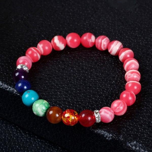 Beaded Bracelets, 8MM, Yoga, Jewelry