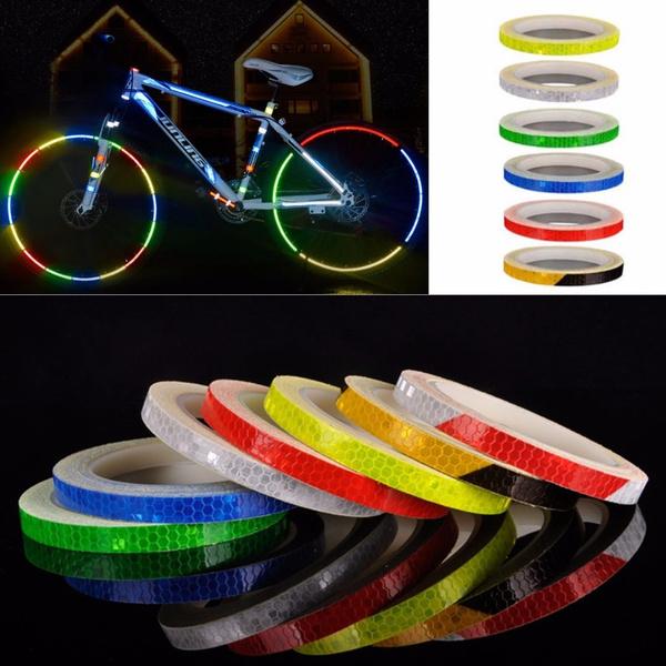 Bicycle, bicyclereflectortape, luminoustape, diyaccessorie