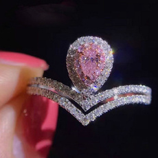 pink, Fashion, 925 sterling silver, Jewelry