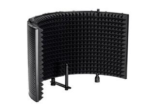 Microphone, soundfoam, shield, monoprice