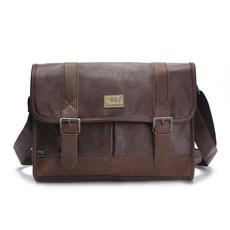 Shoulder Bags, techampgadget, Men's Fashion, leather