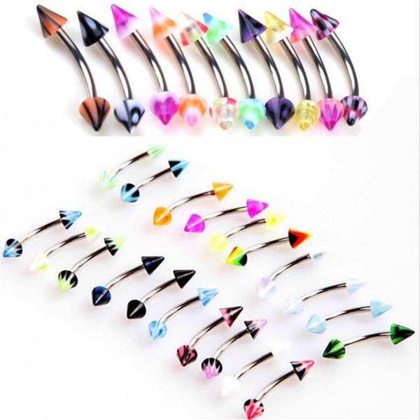 Steel, rainbow, surgicalsteel, Fashion