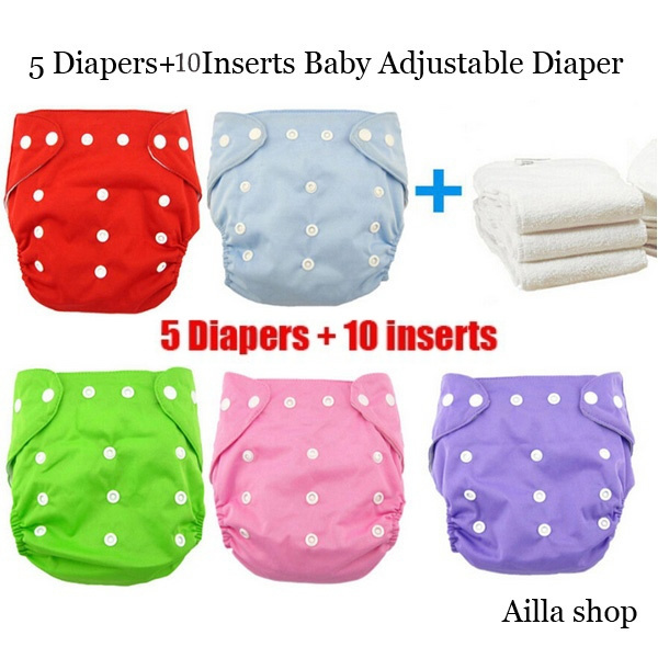 Adjustable, Cloth, pants, diaperfornewborn