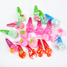 cute, Flowers, hairpinsclip, Clip