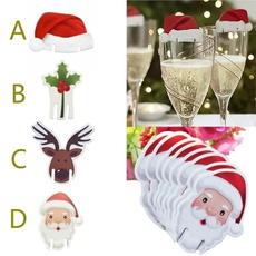 Decor, champagne, Christmas, champagneglassdecor