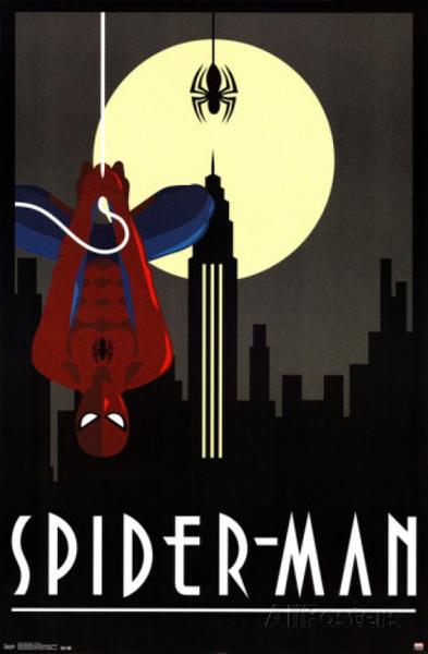 art print, Spiderman, photograph, art