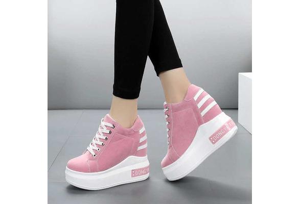 Thick Bottom Women Super White Shoe
