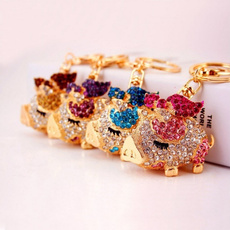 cute, pigkeychain, Key Chain, Jewelry