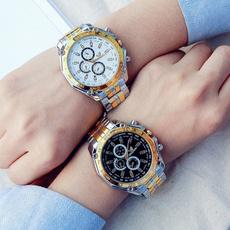 Steel, menwristwatch, Watch, analogwatche