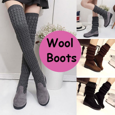 Knee High Boots, stretchboot, Invierno, Knee High