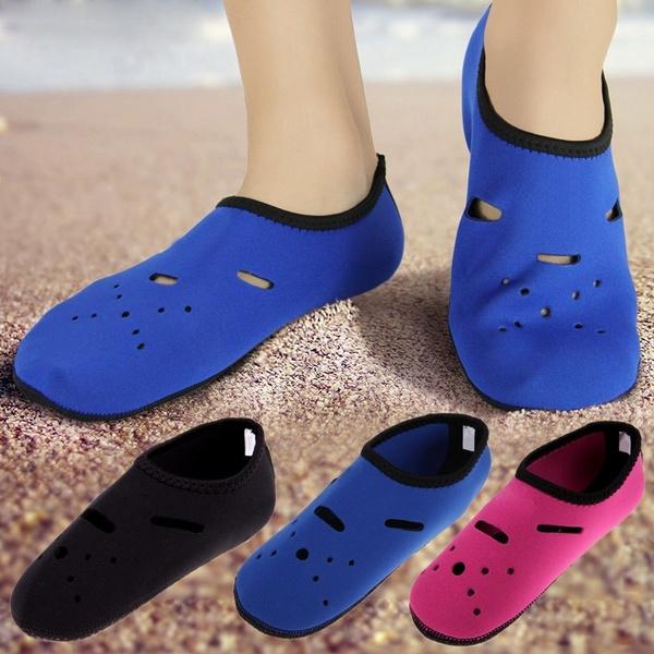 Yoga, été, plage, chaussette
