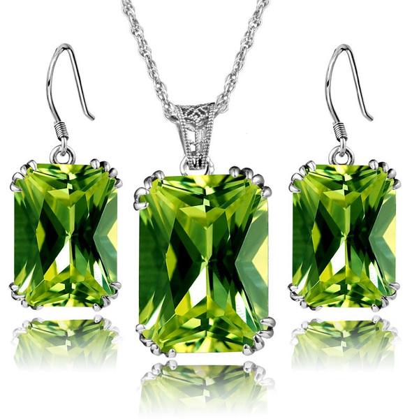 Sterling, Jewelry Set, Jewelry, Stud Earring