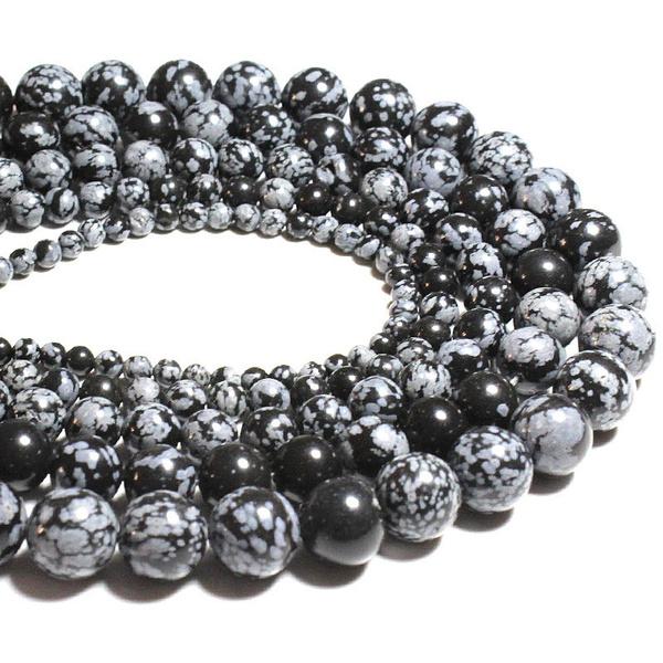 Jewelry, diynecklace, Bracelet, snowflakestone