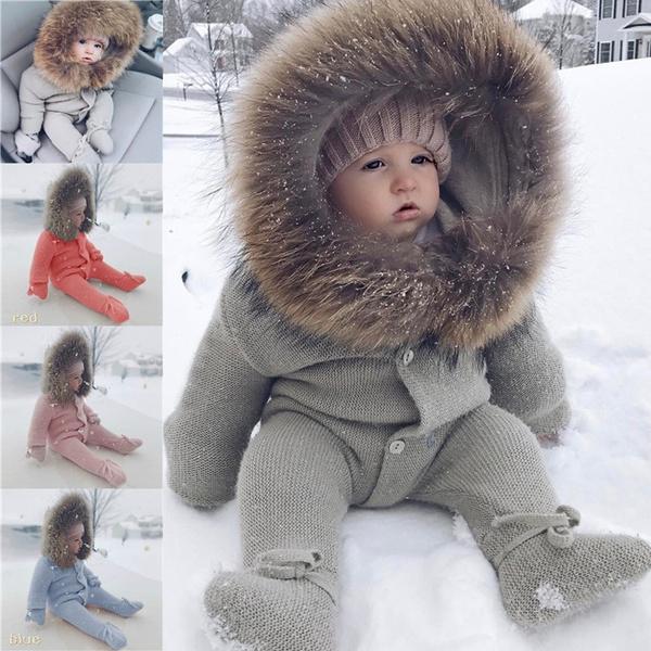 babyromperjumpsuit, Fashion, fur, Winter