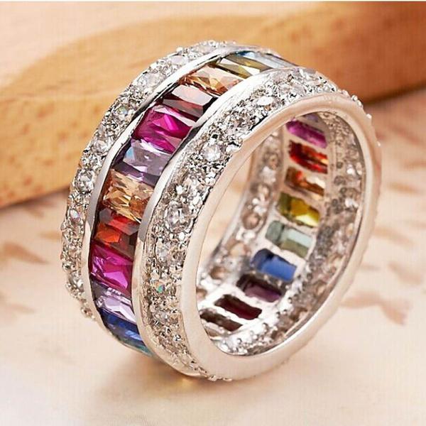 Woman, Jewelry, Topaz, ruby