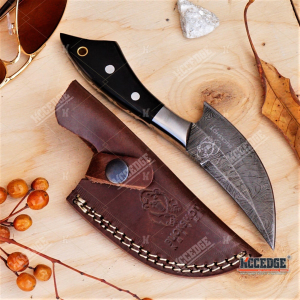 10inches CUSTOM HANDMADE PURE LEATHER SHEATH FOR FIXED BLADES