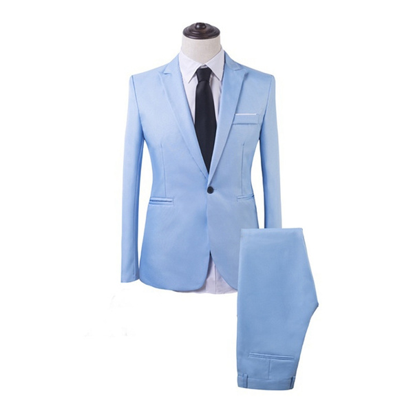 Men, Blazer, slim, Fashion Suits