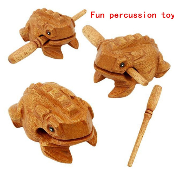 geschenke, woodencarvedfrog, antistres, Wooden
