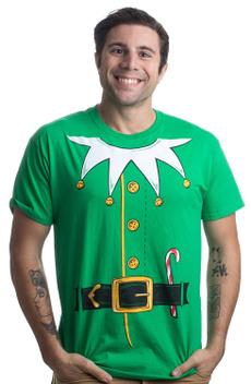Mens T Shirt, Holiday, Cosplay, Cotton T Shirt